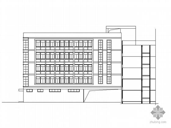 [瑞安]某小学五层综合楼建筑施工图