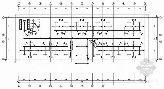 山西某公司四层公寓楼电气施工图