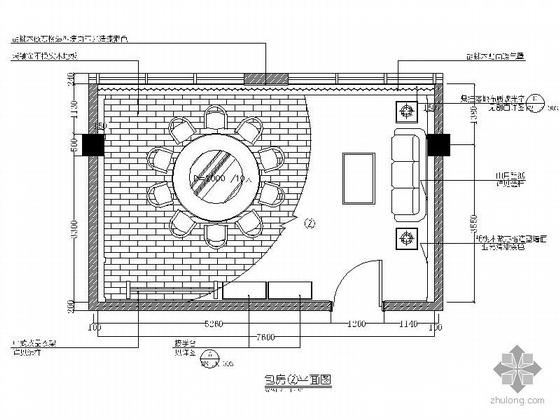 国际酒店中餐厅包间装修图Ⅱ