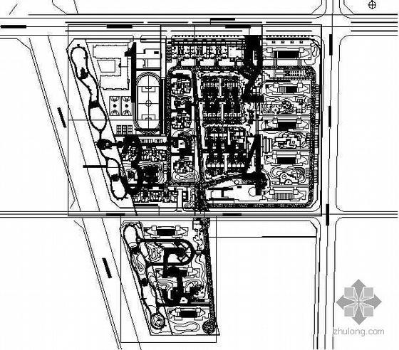[河北]小区环境景观施工图设计