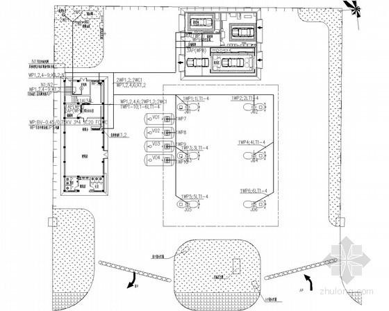 [湖南]加油站电气设计施工图(含便利店)