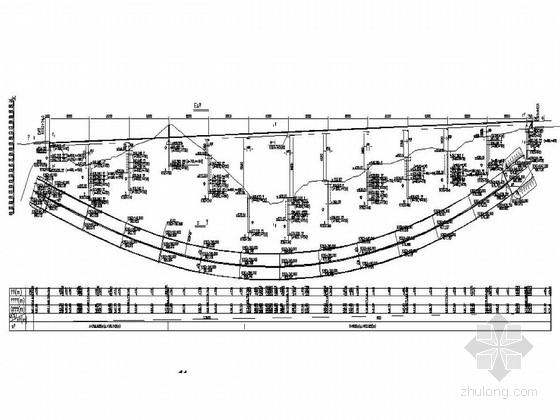 4×50m预应力连续刚构箱梁桥施工图设计138张CAD