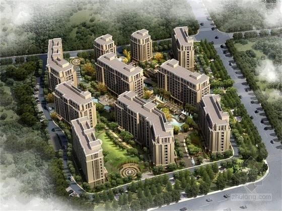 [杭州]地方文化曲线整合住宅景观设计方案