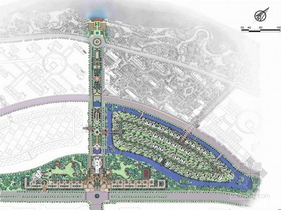 [辽宁]皇家刺绣园林高档居住区景观规划设计方案