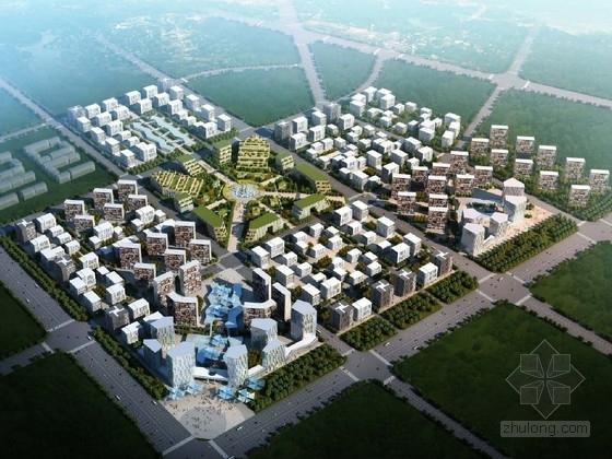 [北京]大型城市综合体规划及单体设计方案文本(美国知名设计事务所)