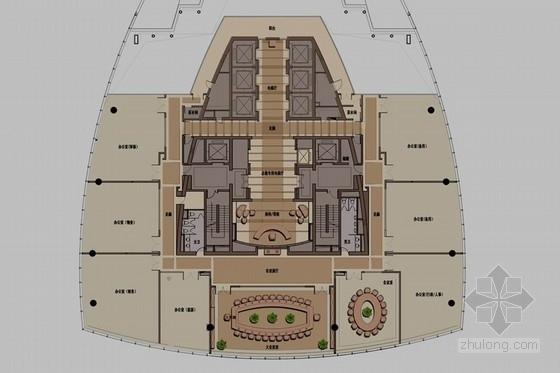[上海]房地产百强企业总裁顶级私人会所室内设计方案