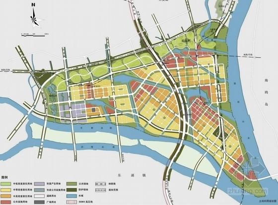 [广州]现代宜居亚运村地块规划设计方案文本-现代宜居亚运村地块规划分析图