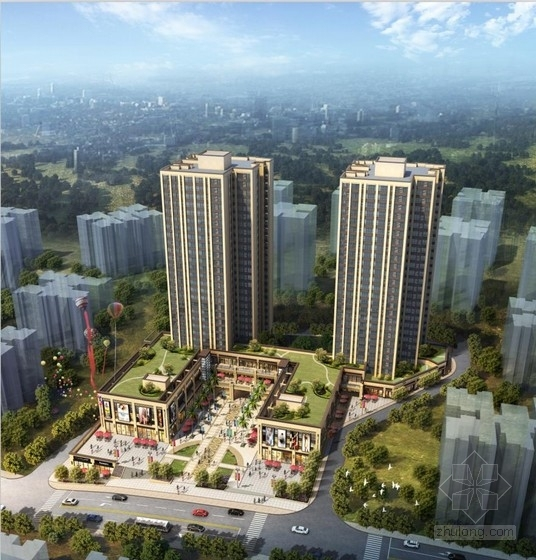 [重庆]高层新古典风格中高档住宅建筑设计方案文本(2016最新 含cad)
