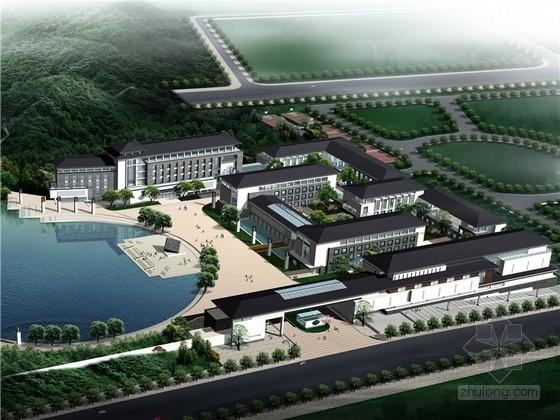 [湖南]新中式辦公總部基地規劃及建筑設計方案文本