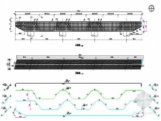 先张预应力混凝土简支板梁桥桥墩盖梁钢筋构造节点