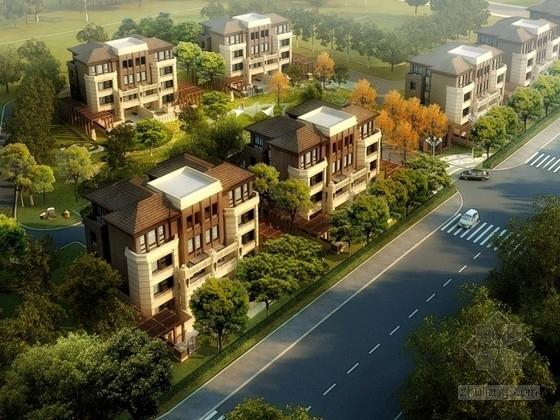 [上海]某别墅区规划及单体设计方案文本(含CAD、模型)