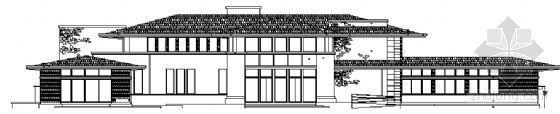 某二層會所建筑方案圖(帶地下室)