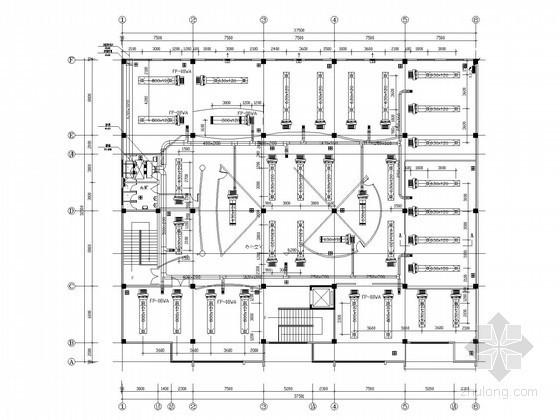工业园区办公楼中央空调工程系统设计方案图