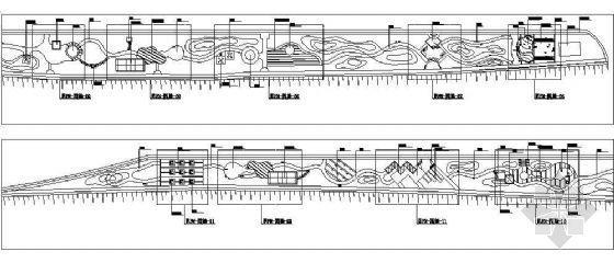 唐山公园园林设计施工图