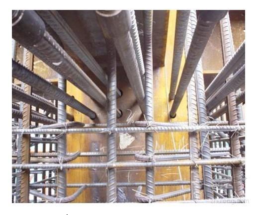 高层办公楼钢筋工程施工工艺(型钢混凝土)