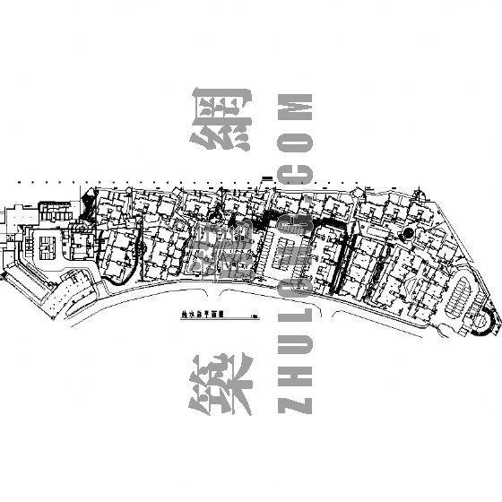 园林景观工程施工图(成都万科城市花园)六