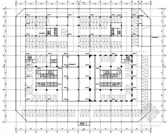 [山西]32层大型办公楼全套电气施工图纸(含楼宇自控系统)