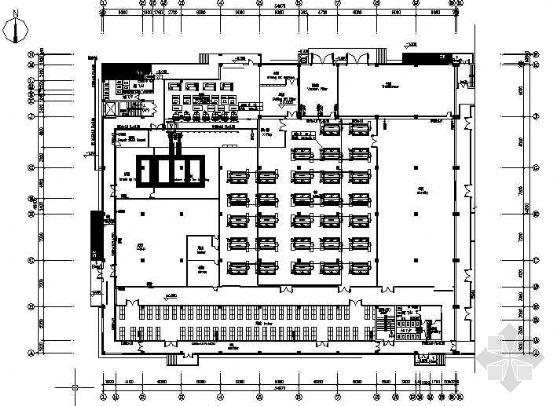 苏州某电子生产厂房给排水设计图