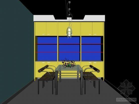 某餐厅模型