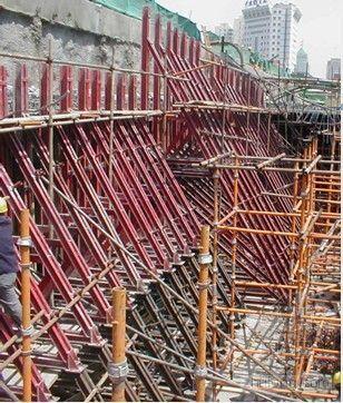 单侧模板支架施工技术演示文稿(PPT)