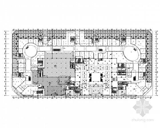 [黑龙江]知名广场商业中心电气施工图123张(室内步行街 娱乐楼 百货楼 写字楼等)