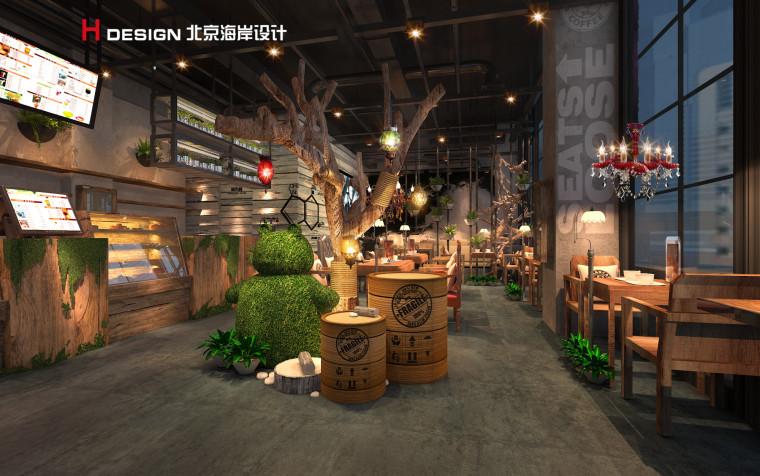 归本主义设计作品—上海漫猫咖啡馆设计案例_6