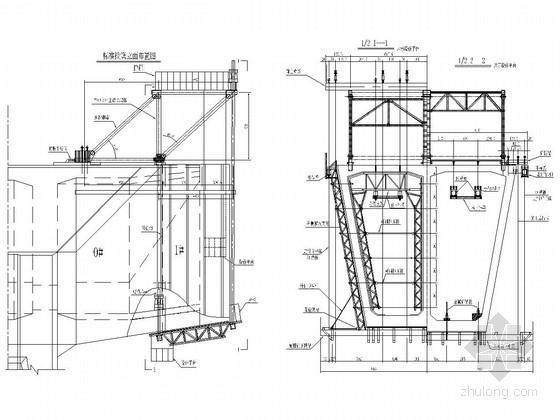 悬浇梁菱形挂篮全套设计图及计算书(68张 附主桥施工方案)