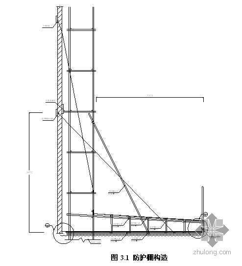 深圳某高层外架悬挑防护棚施工方案