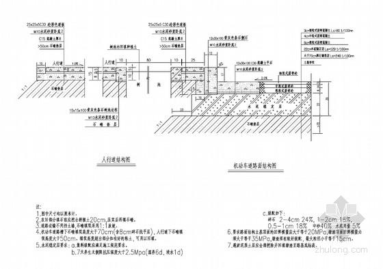 [PDF]城市工业区道路给排水工程全套施工图(60张)