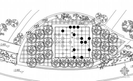 重庆某公园小广场环境景观设计