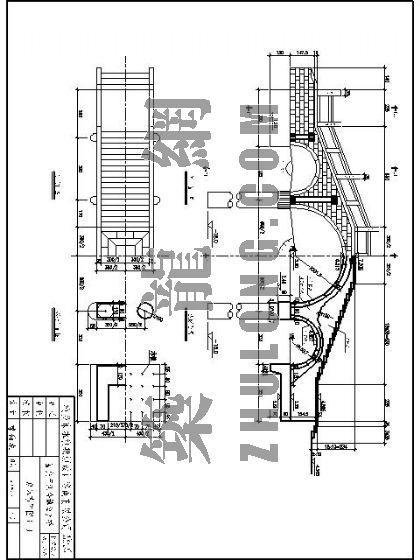 三跨古式环桥施工图
