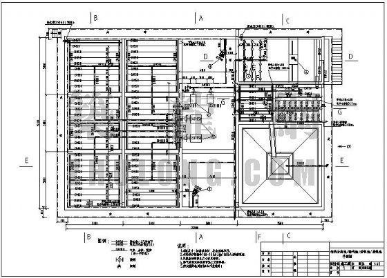 某化工厂污水全套工艺施工图