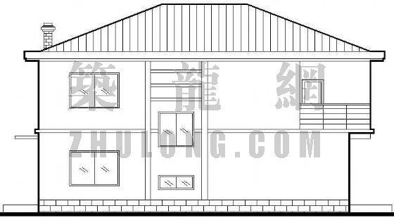某小型别墅建筑施工图纸