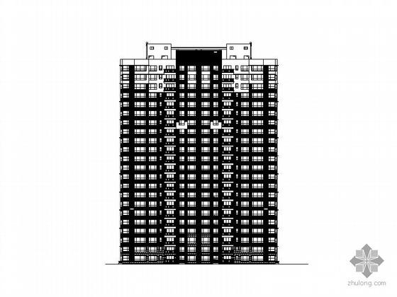某金海湾二十二层一梯三户住宅楼建筑施工图