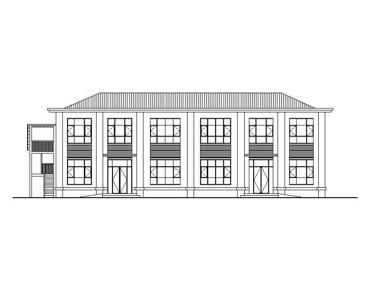 [宁夏]工业生产服务中心建筑改造施工图