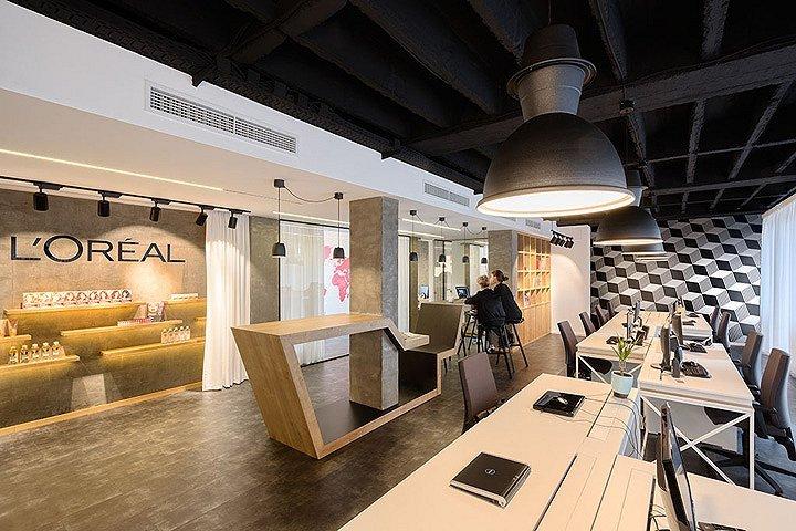 欧莱雅贝尔格莱德办公空间(塞尔维亚)