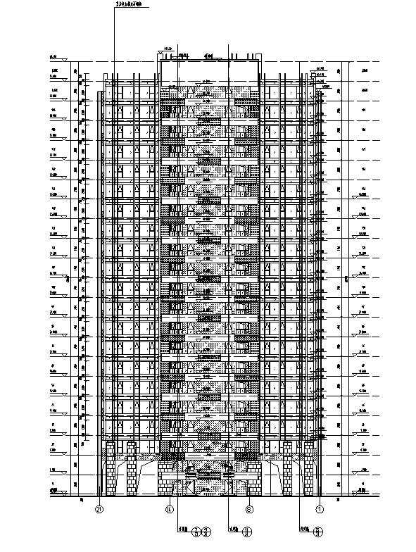 [河南]26层塔式住宅建筑施工图(16年全专业图纸)_6