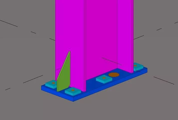 Tekla建模——钢结构雨棚