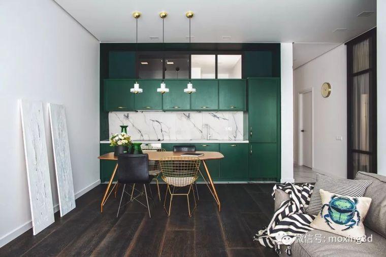 色彩灵动的北欧简约公寓,无可挑剔的美_6