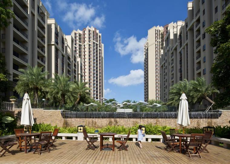 阳江中集国际城住宅景观