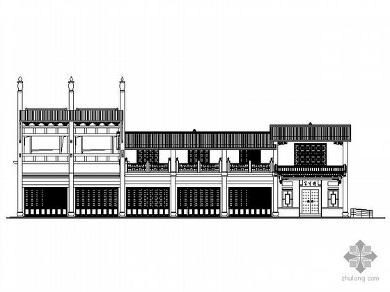 [合集]4套传统式风格大型古典建筑施工图