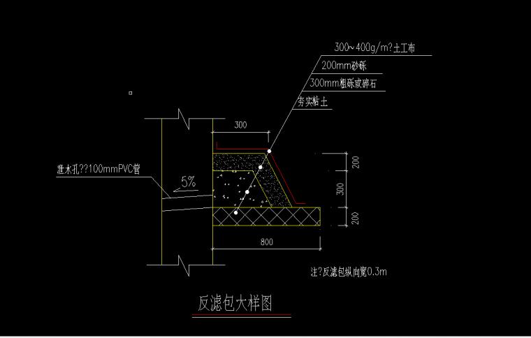 挡土墙反滤包怎么计算工程量