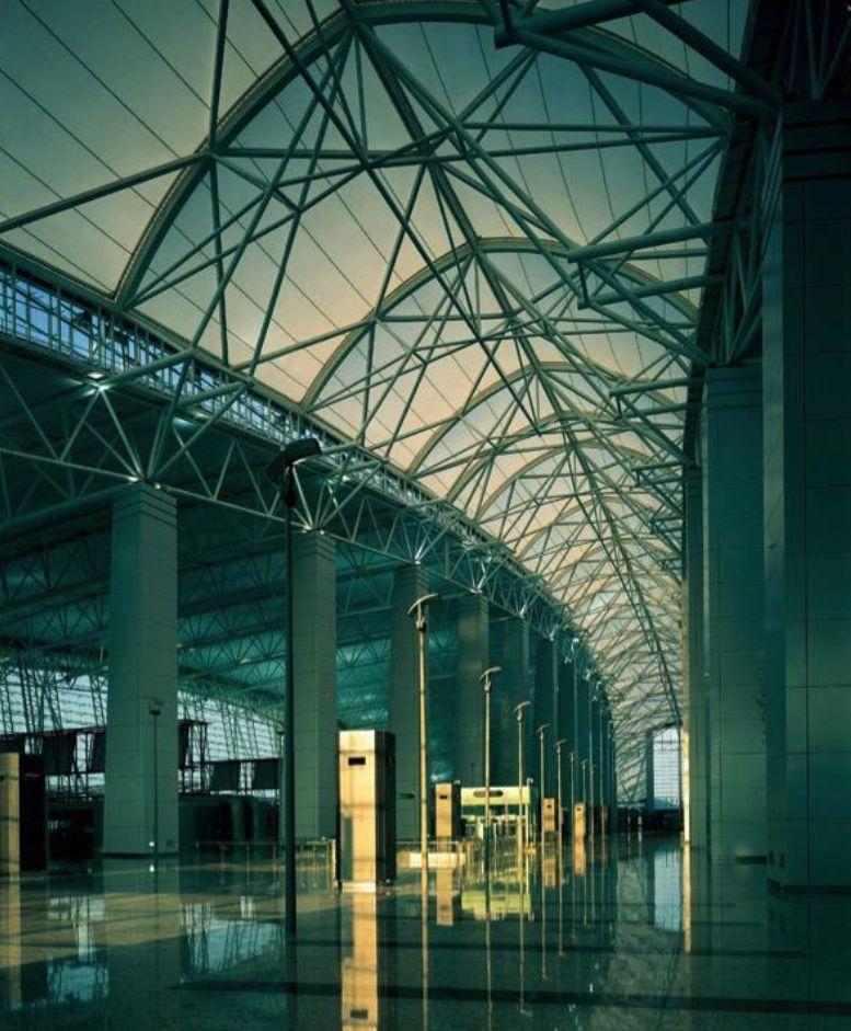 漫谈金属屋面的建筑设计应用(1)——广州新白云国际机场航站楼_15