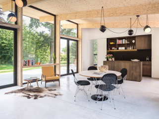 比利时温润净透的住宅