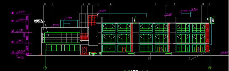3层框架3034.8平米幼儿园建筑施工图设计