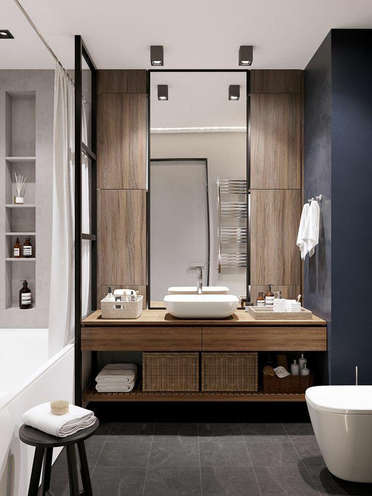 卫生间无法四室分离?这20个干湿分离方案很受欢迎!_7