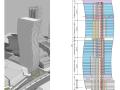 某S形超高层办公楼结构设计论文(2016)