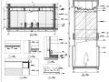 [广东]地产公司办公楼设计施工图(效果图+材料表)