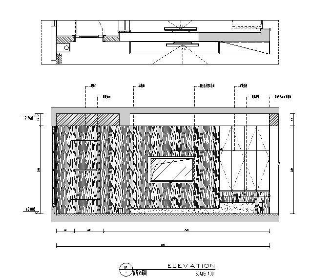 简约三居室住宅设计施工图(附效果图)