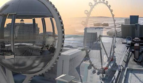 BIM软件Bentley助力世界最高摩天轮的三维设计